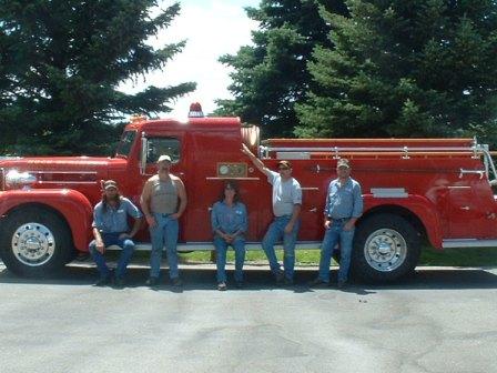 Crew with Maxim Truck