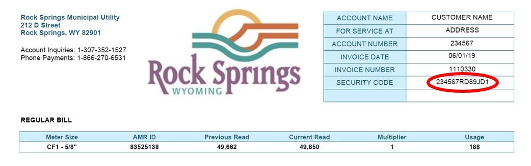 Document Center / Rock Springs Municipal Utility Online